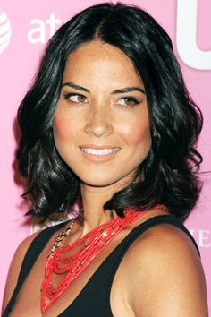 OLIVIA MUNN  Getting a shorter cut can enhance your hair's natural wave and wipe out split-ends.