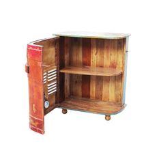 alcohol cabinet Bar Furniture, Retro Furniture, Furniture Design, Alcohol Cabinet, Liquor Cabinet, Home Bar Designs, Display Cabinets, Pub Bar, Mini Trucks
