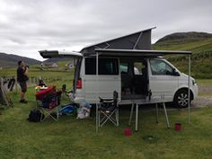 VW California Campervan Hire in Orkney – Judith Glue