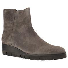 GABOR - 71.861 - Damen Kurzschaft Stiefel - Grau Schuhe in Übergrößen   #gabor #schuhe#in #übergrößen #Größe 42,43,44,45
