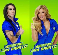 Abadía de Carfax: El anuncio de Aurgi con Mario Vaquerizo y  Rebeca. Más información en http://abadiadecarfax.blogspot.com.es/2015/03/el-anuncio-de-aurgi-con-mario-vaquerizo.html?spref=pi