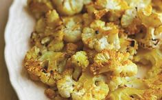 When roasted, cauliflower is transformed from vegetable wallflower to attractive life of the party, says celebrity chef Amanda Freitag. This healthful vegetarian recipe is straightforward and simple…
