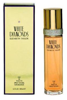 White Diamonds by Elizabeth Taylor Women's Perfume oz, Eau de Toilette Elizabeth Taylor Perfume, White Diamonds Perfume, Long Lasting Perfume, Celebrity Perfume, Best Fragrances, Taylor White, Best Perfume, Cool Things To Buy, Perfume Bottles