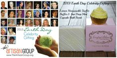 We have some exciting events in the near future! Soapybliss will be gifting some pretty HUGE celebs for Earth Day next month! Leonardo Dicaprio, Barbara Streisand, Courtney Cox, Pink, and Cameron Diaz to name a few! They will receive our Sundrop Cupcake Bath Bomb and Lemon Honeysuckle Truffle Buffer!