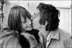 Serge Gainsbourg and Jane Birkin, photography by Tony Frank. Serge Gainsbourg, Gainsbourg Birkin, Charlotte Gainsbourg, Jane Birkin, Tony Frank, Exposition Photo, Romance, Expositions, Portraits