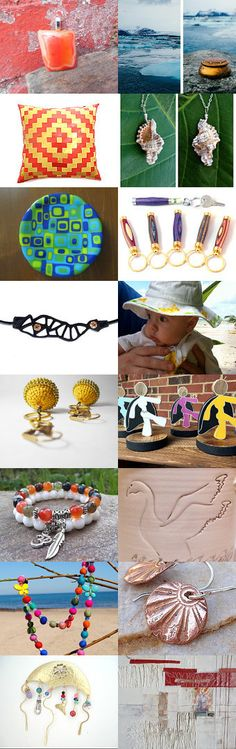 HOT FUN IN THE SUMMERTIME -         by VintageSantaBarbara for INTEGRITY by Patty andLittleGuy on Etsy--Pinned with TreasuryPin.com