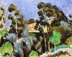 Henri Matisse - Eucalyptus Montalban, 1918