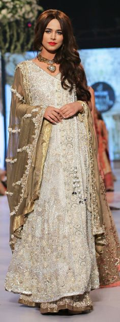 Like the design, not sure about the colour combination Rani Emaan Bridal Collection