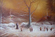 First snowfall in the shire, by Joe Gilronan