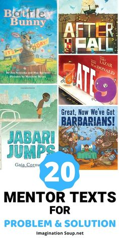 Use mentor text picture books to teach problem and solution text structure which improves reading and writing skills including making informed predictions. Love Book Quotes, I Love Books, Good Books, Teaching Writing, Writing Skills, Writing Prompts, Teaching Ideas, The Bear Family, Middle School English