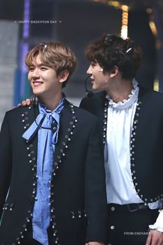 Chanyeol [찬열] and Baekhyun [백현] // ChanBaek
