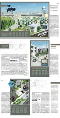 0260 Zeit Wissen Magazin – The green City # infographics