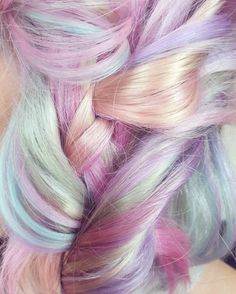 ❤ The Cutest Subscription Box Dye My Hair, New Hair, Hair Inspo, Hair Inspiration, Jace Lightwood, Opal Hair, Bright Hair, Colorful Hair, Coloured Hair