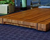 Laketown Woodworks Bamboo cutting board