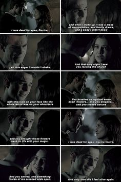#TheOriginals #3x21 - Do you know the first time that I saw you? In the record store. No. It was before that. #Kolvina 😢❤️❤️
