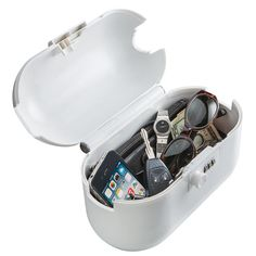 The AquaVault® outdoor travel safe (MSRP $49.95) is made of durable high impact ABS thermoplastic to withstand aggressive attempts on your valuables. The 120-cubic inch cargo hull is roomy enough for