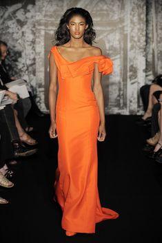 Carolina Herrera Resort 2010 Fashion Show - Sessilee Lopez