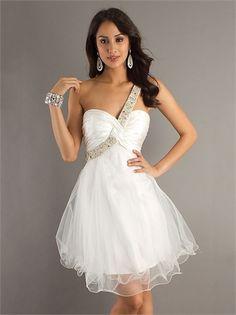 Leather Short Prom Dress