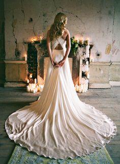 pretty gown #wedding
