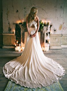 Pretty gown #wedding