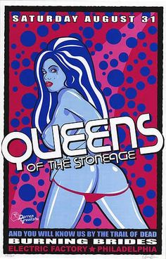[ QUEENS OF THE STONEAGE POSTER ]