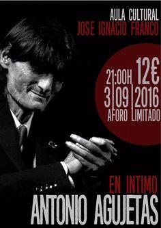 Antonio Agujetas en directo