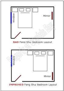 Feng Shui Bedroom Mirror how to position your bed for good feng shui | ms. feng shui | feng