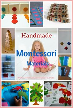 Handmade Montessori Materials + Giveaway Etsy $100AU Gift Card | Montessori Nature