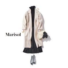 Minimal Fashion, Japanese Fashion, Polyvore Outfits, Outfit Sets, What To Wear, Winter Fashion, Raincoat, Boutique, Elegant