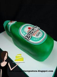 Esa Heineken en fondant!