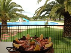 Paella amb vistes! · Paella with great views!