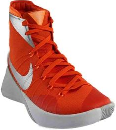 2d21412e9957 Nike Nike Hyperdunk 2015 Tb Orange Blz Metallic Silver Bright Ctrs Mens  Athletic Training Shoes Athletic