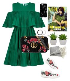 Designer Clothes, Shoes & Bags for Women Burberry, Gucci, Dressy Outfits, My Style, Polyvore, Green, Inspiration, Collection, Shopping