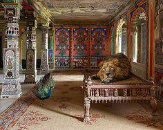 Karen Knorr - The Lovesick Prince, Aam Khas, Junha Mahal, Dungarpur Palace, Dungarpur @ India Song | StoryLTD