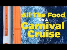 All the Food You'll Eat On a Carnival Cruise [WATCH]