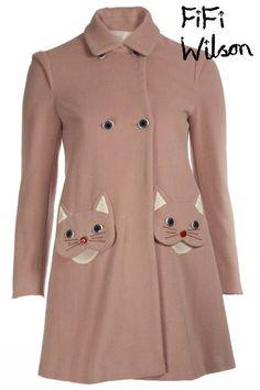 FiFi Wilson – Vivetta Pink Coat | Anna Dray