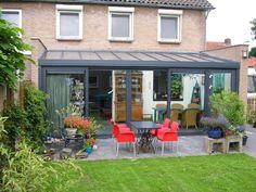 Serres foto van serre voorbeelden bij Serrebouw Brabant - Serrebouw Brabant Norway House, Conservatory Ideas, Extension Ideas, Backyard Ideas, Villa, Outdoor Decor, Home Decor, Houses, Ceilings
