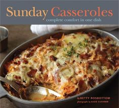Sunday Casseroles Complete Comfort in One Dish Nothing beats spending a cozy Sunday in the kitchen, and Sunday Casseroles serves up the perfect afternoon activity. Home cooks searching for new ideas will love these 60 modern recipes using fresh, whole foods—no processed ingredients—while fans of the popular Sunday cookbook series will clamor for this latest offering featuring dishes designed to look as enticing as they taste.