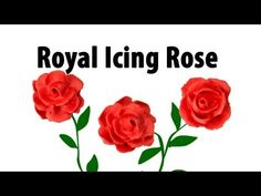 How To Make A Royal Icing Rose by Cookies Cupcakes and Cardio