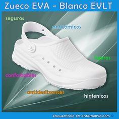 fotos oficiales 131d9 4c4bf Las 17 mejores imágenes de Zuecos enfermeria / Nurse shoes ...