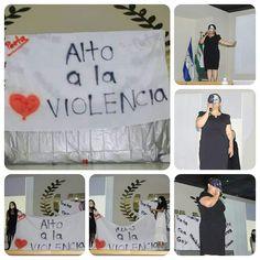 Mensaje transmitido por el grupo de #teatro formado por estudiantes de la carrera de Ing. En #Electrónica #UTH #Honduras