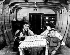 "The most famous of the three was the boat in Keaton's short The Boat (1921). In the film, Buster has built a boat in his house and called it Damfino, presumably meaning ""damn fine."" By the end of the film, he has successfully demolished his house, drowned his car, sunk the boat, and Buster and his little family are lost, washed up after a storm at night on a deserted beach. ""Where are we?,"" asks Buster's wife.  ""Damfino,"" he replies, shrugging his shoulders."