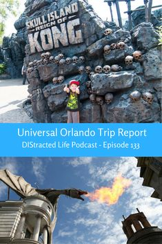 Universal Orlando trip report with Kristy Hertz on this week's podcast.  She traveled with her six-year-old son and they stayed at Loew's Royal Pacific Resort for access to Express Pass.
