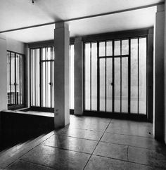The classical modernism of the Wittgenstein House by Paul Engelmann and Ludwig Wittgenstein. Beautiful.