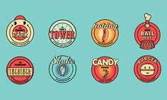 Lost Toon's City - Theme Park Branding on Behance