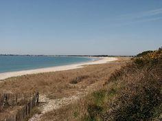 Sainte Marine, la longue, longue plage en hiver