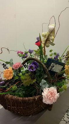 Geboorte mand bloemen