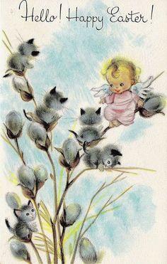 postcard.quenalbertini: Vintage Easter Postcard | eBay
