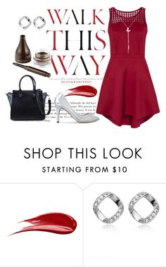 """""""Party Style"""" by sunflower-hainguyen on Polyvore featuring Anja, Hourglass Cosmetics, ZALORA and nature republic"""
