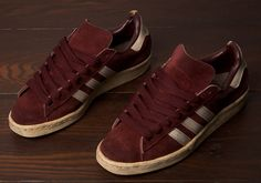 ... Made in France Adidas Campus in Burgundy colourway 27ecea7a0